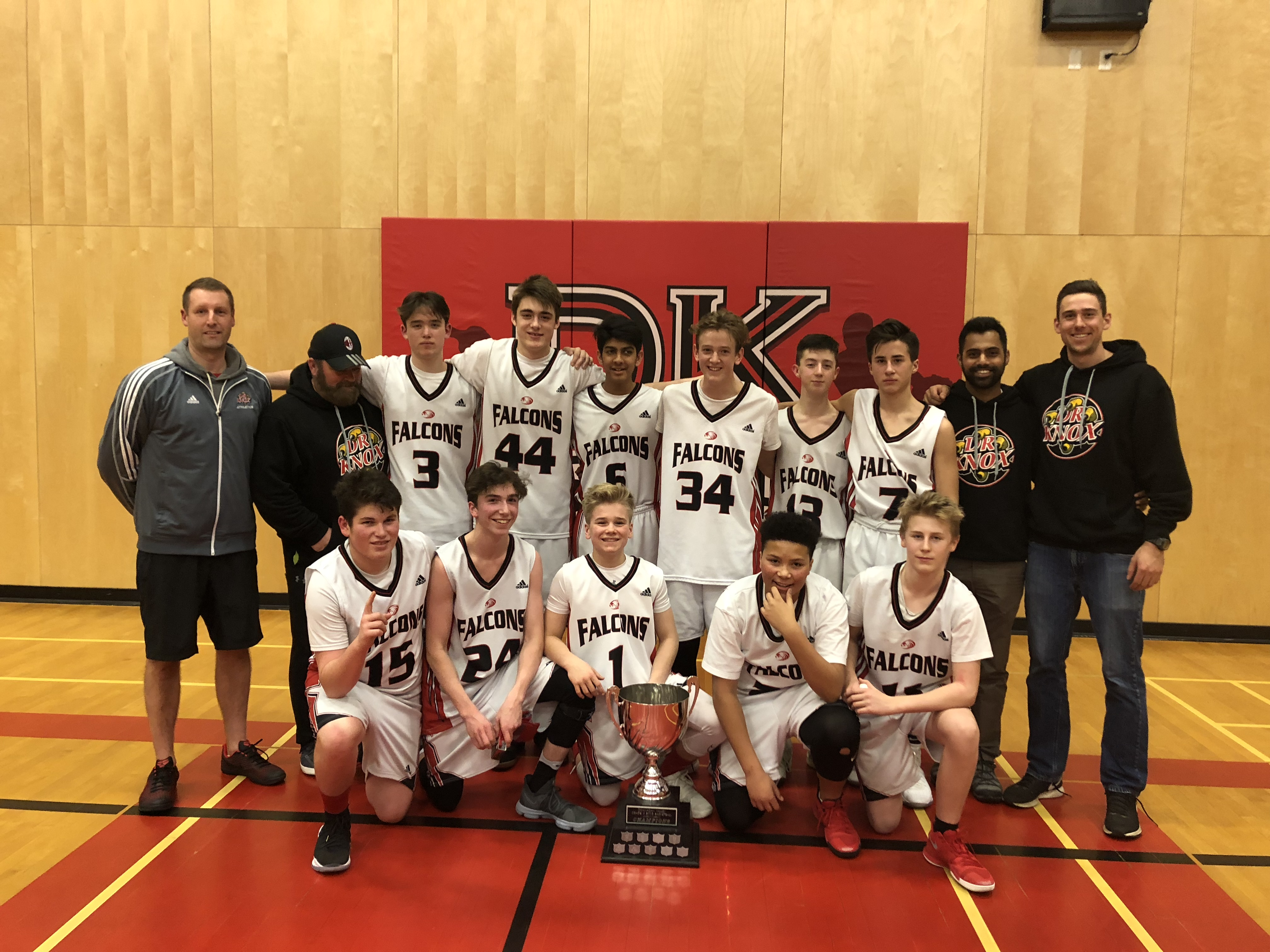 Congrats to the Knox Grade 9 Boys Valley Champs!