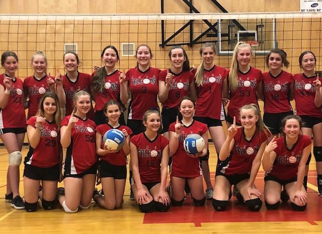 Congrats to the Grade 8 Girls' Volleyball Teams!